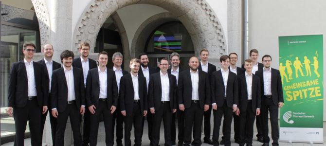 Dritter Platz beim Deutschen Chorwettbewerb